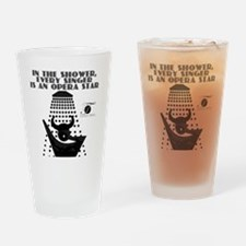 opera_shower_black Drinking Glass