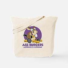 Aspergers-Donkey-blk Tote Bag