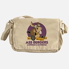 Aspergers-Donkey-blk Messenger Bag