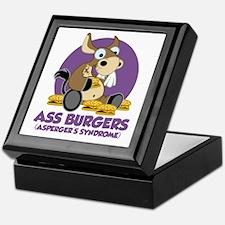 Aspergers-Donkey-blk Keepsake Box
