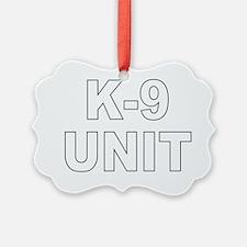 k9unit Ornament