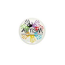Autism-Handprint2011 Mini Button