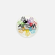Autism-Handprint2011 Mini Button