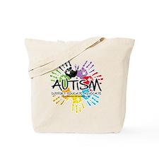 Autism-Handprint2011 Tote Bag