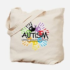 Autism-Handprint2011 Tote Bag