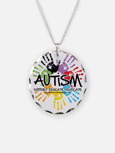 Autism-Handprint2011 Necklace