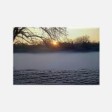 sunrise Rectangle Magnet