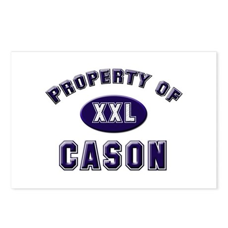 Property of cason Postcards (Package of 8)