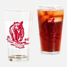 pinkbear Drinking Glass