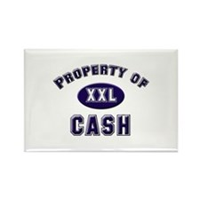 Property of cash Rectangle Magnet