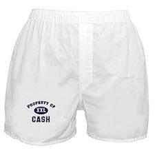 Property of cash Boxer Shorts