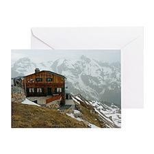 Alpine house germany Greeting Card