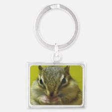 chipmunk larg Landscape Keychain