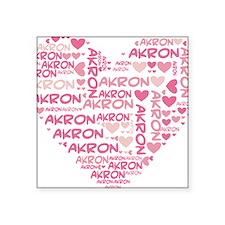 """HeartWordle2 Square Sticker 3"""" x 3"""""""