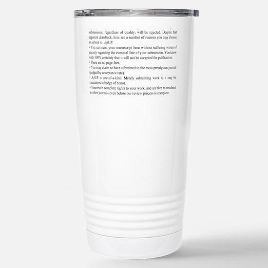 Reasons Stainless Steel Travel Mug