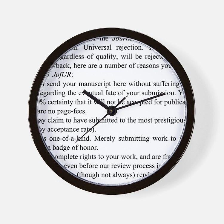 Reasons Wall Clock