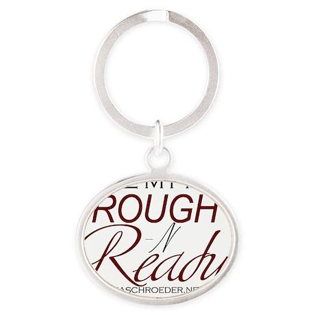 Rough n Ready Men Oval Keychain