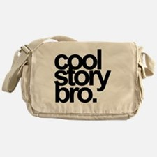 cool story bro Messenger Bag