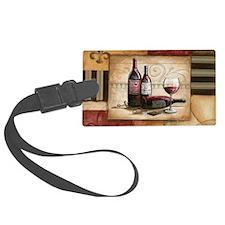 wine and chocolate 2 Luggage Tag