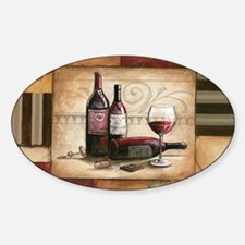 wine and chocolate 2 Decal