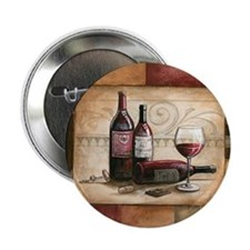 "wine and chocolate 2 2.25"" Button"