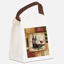wine and chocolate 2 Canvas Lunch Bag