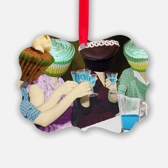 Cupcakes In The Kitchen... Ornament