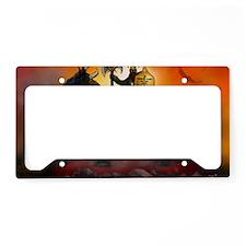 Frazetta Tribute License Plate Holder