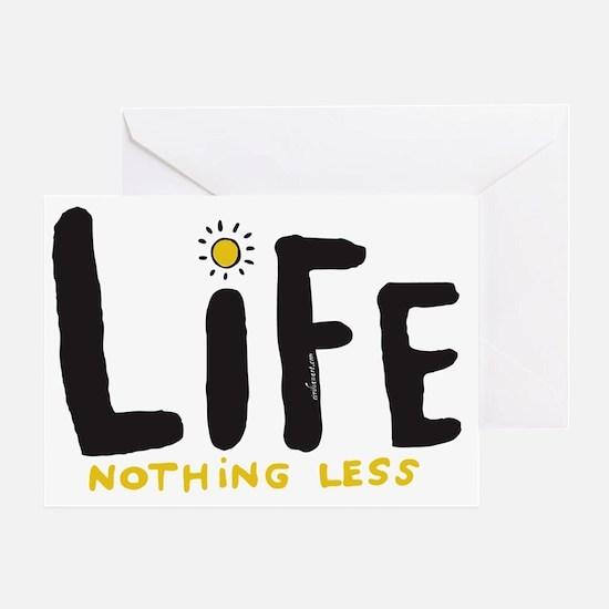 life2 Greeting Card