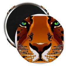 tiger face_10x10_200dpi Magnet