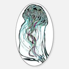 meduseinvvalinvcontOK Sticker (Oval)