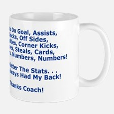 Thank You My Soccer Coach Greeting Card Mug