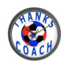 Soccer Coach Thank You Unique Gifts, Pr Wall Clock