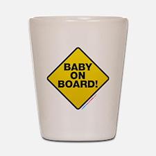 Baby On Board Shot Glass