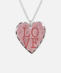 love oval Necklace