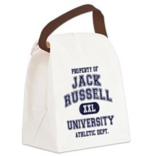Jack-Russell-University Canvas Lunch Bag