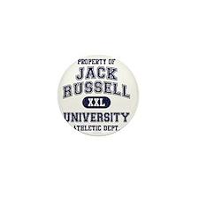 Jack-Russell-University Mini Button