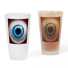 16x16_theeye_electric Drinking Glass