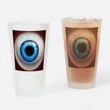 16x16_theeye_electric Drinking Glass