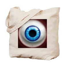 16x16_theeye_electric Tote Bag