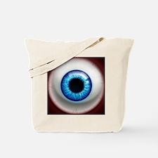 16x16_theeye_electric Tote Bag