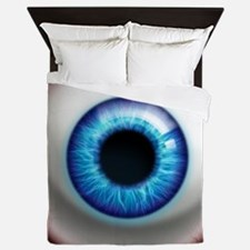 16x16_theeye_electric Queen Duvet