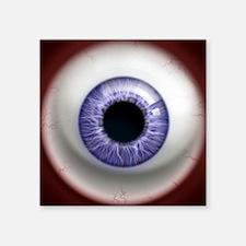 "16x16_theeye_lavender Square Sticker 3"" x 3"""