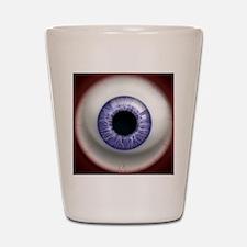16x16_theeye_lavender Shot Glass
