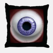 16x16_theeye_lavender Throw Pillow