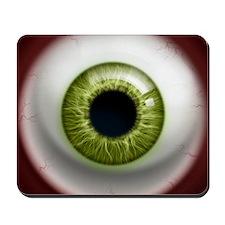 16x16_theeye_green Mousepad