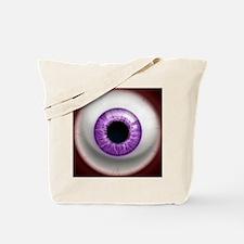 16x16_theeye_violet Tote Bag
