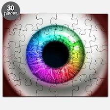 16x16_theeye_rainbow Puzzle