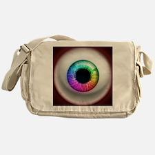 16x16_theeye_rainbow Messenger Bag