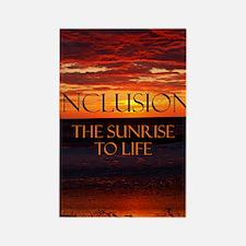 sunrise-a Rectangle Magnet